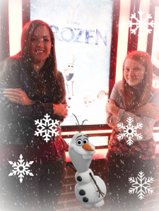 frozen with olaf